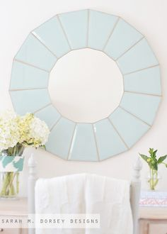 80s Chandelier to Glass Mirror | How To