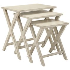 Make a set of nesting tables