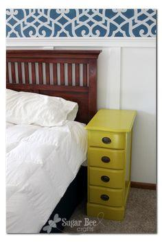 Nightstands - from a desk! ~ tutorial