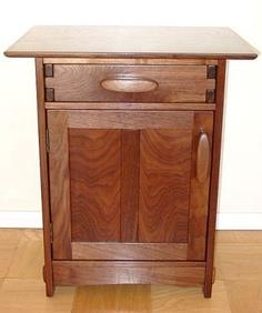 arts and crafts style nightstand