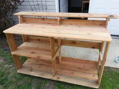Cedar Fence Picket Bar