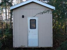 Modern outhouse on a budget