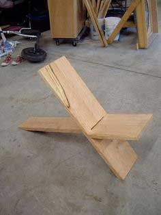 Plank Chair