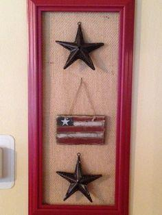 Patriotic Frame Decoration