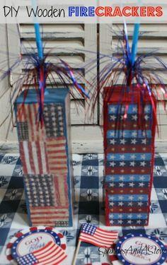 DIY Firecracker Summer Craft