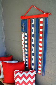 Make a Patriotic Molding Flag