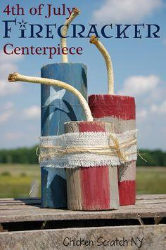 Firecracker Centerpiece
