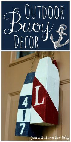 Outdoor Buoy Decor