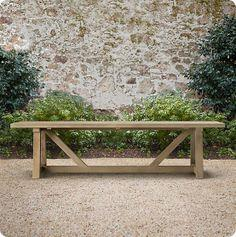 Outdoor Wood Dining Table