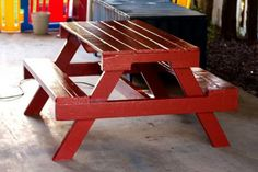 PALLET PICNIC TABLE HOW - TO