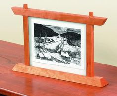 Build a Two-Sided Picture Frame