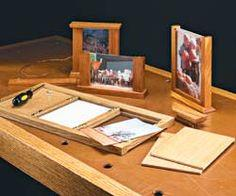 No-Miter Picture Frames
