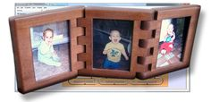 Wooden Hinged Photo Frames Project