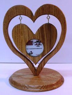 Heart in Heart Picture Frame