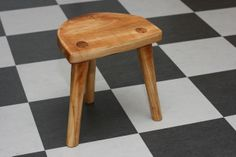Viking Stool/plant stand