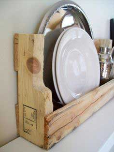 Wooden Kitchen Shelf tutorial