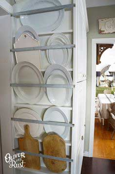 Plate Rack Kitchen DIY tutorial