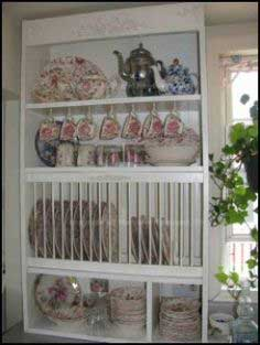 diy plate rack tutorial