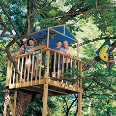 Tree Fort Plans
