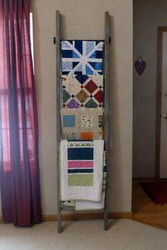 Quilt Rack Plans Planspin Com Quilt Display Hangers