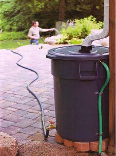 Rain water barrel tutorial