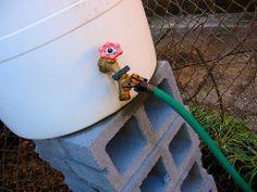 DIY Gardening: Build a Rain Barrel