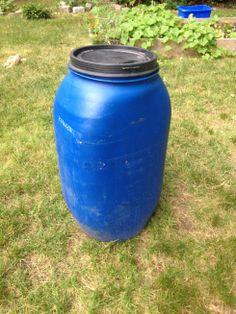 DIY Rain Barrel Tutorial