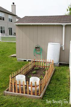 Rain Barrel How To - Harvesting Rainwater