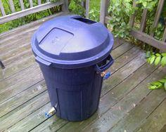 Roughneck Rain Barrel Plans