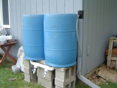 High Volume Rain Barrel