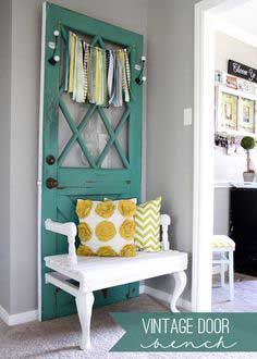 Vintage Door Bench Tutorial
