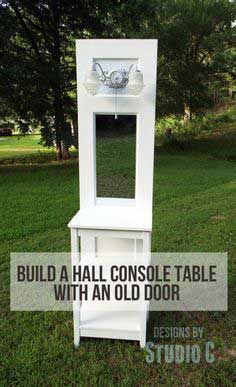 Plans to Build a Table using an Old Door