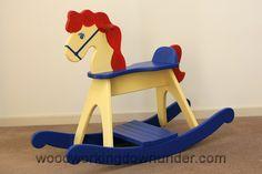 36 Rocking Horse Plans Planspin Com