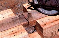Build an Economical Sawhorse