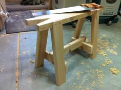 Build a Sawhorse