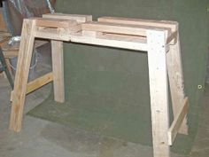 Build Sawhorses