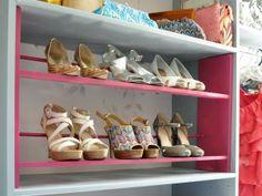 How to Build a Shoe Rack for Your Closet