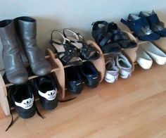 Easy Design Shoe Rack