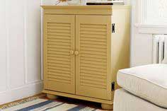 a custom-built cabinet from a bookshelf and shutters - tutorial