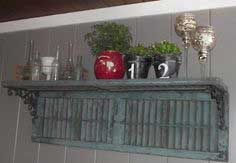 Unique one of a kind wall shelf.....so easy to make