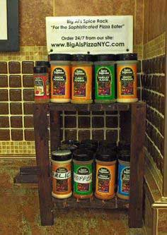 Industrial Strength Spice Rack