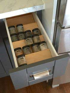 Build a Spice Drawer Insert
