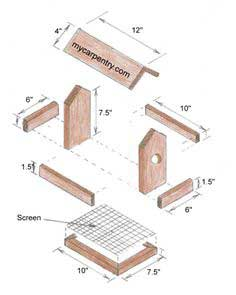 35 squirrel feeder plans free assortment of plans for Simple bird feeder plans for kids