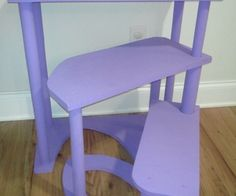 spiral step stool from scrap wood