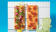 Trellis made from PVC