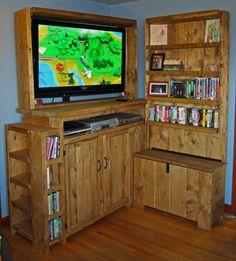 100 Free TV Cabinet Plans Entertainment Center At PlansPin