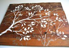 Barn Wood and Branches