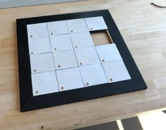 Make a Wooden Sliding Puzzle
