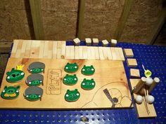 Wooden Angry Birds Game Set