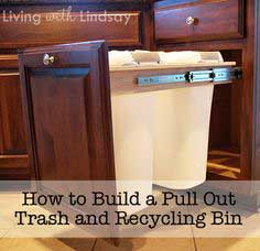 Pull Out Trash & Recycling Bin